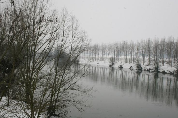 Mantova snow, neve  #Mantova #Mantua #cultura #culture #Italia #Italy #neve #snow