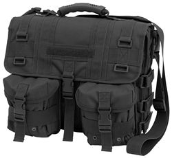 Black Tactical Computer Attache' | Military | Military Bags | Luggage | Bags | Navy