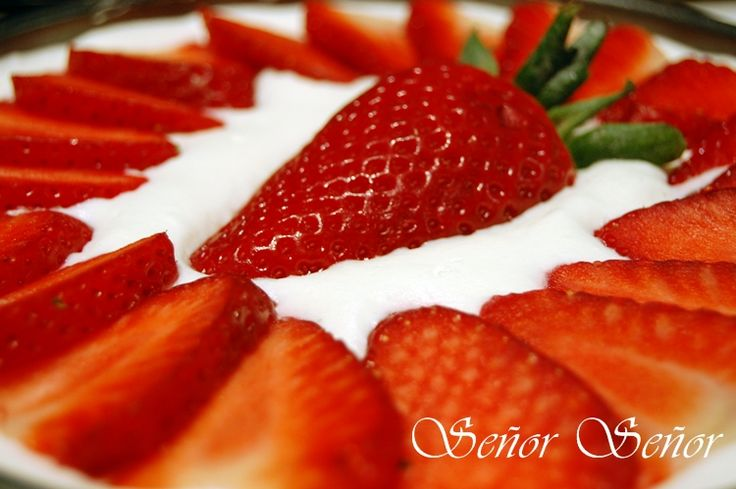 Tarta de queso y fresas paso a paso