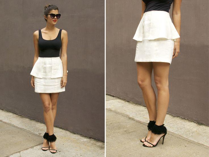 DIY: peplum skirt: Diypeplum, Skirts Diy, Diy Fashion, Fashion Diy, Diy Peplum, Diy Clothing, Diy Skirts, Sewing Ideas, Peplum Skirts