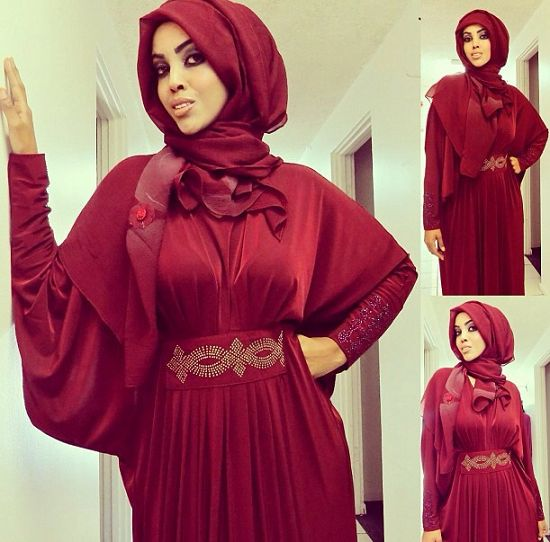 The Best Red Evening Dresses| Hijab Styles l | Hijab/Outfit Inspiration | Pinterest | Evening ...