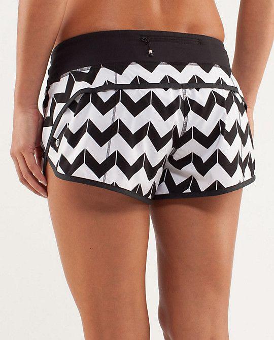 run: speed short   women's shorts, skirts & dresses   lululemon athletica   Omg want these Lululemon shorts!