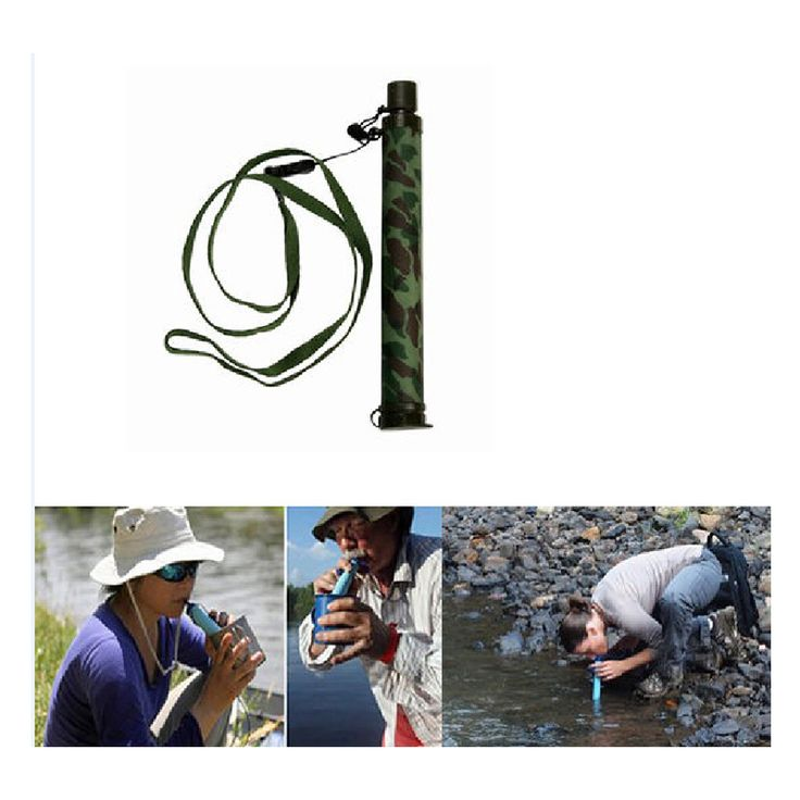 Outdoor Sport Camping Water Filter Purification Drinking Purifier Survival Gear Filter Good For Travel & Backpacking(China (Mainland))