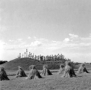 Przedwojenna fotografia litewskaL V. Augustinas  Kryziu kalanas. 1933-39