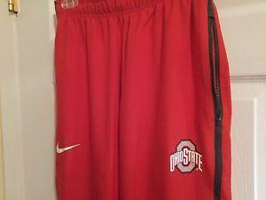 NEW Nike Dri-Fit Ohio State Buckeyes OSU Basketball Training Pants Men's Small S