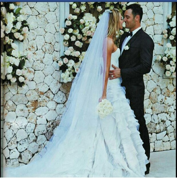 Jennifer Hawkins & Jake Wall wedding Bali