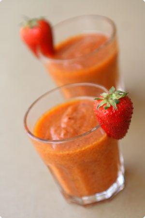 il cavoletto: Gazpacho di peperone e fragola