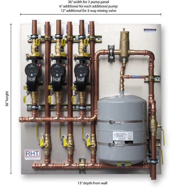 Radiant Floor Heating Pex Piping Infloor Heat Blueridge Company Santehnika Vodosnabzhenie Remont