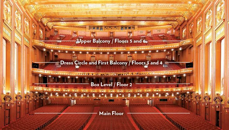 Lyric Opera House Seating Chart Lyric Opera Seating Charts Opera