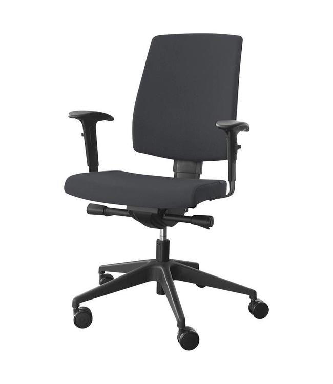 Hoe stel ik een bureaustoel in? Inofec