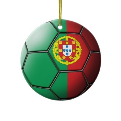 Portugal Soccer Ornament from http://www.zazzle.com/soccer+ornaments