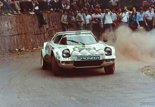 Lancia Stratos Tony Mannini Ciocco 79