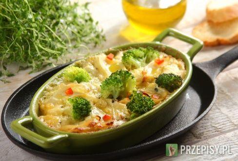 Zapiekanka ziemniaczana z mięsem mielonym i brokułami