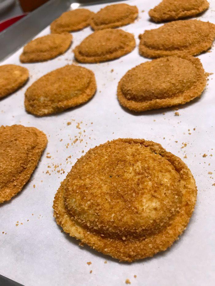 Toasted Ravioli Recipe Toasted Ravioli Tasty Whole Food Recipes