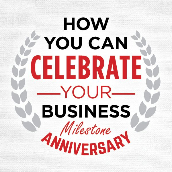 business anniversary stickers