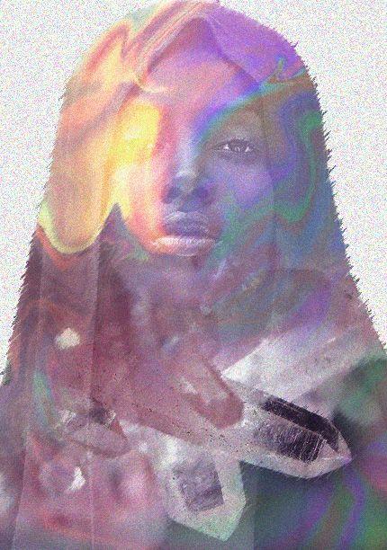 Distortion Portraits- Daniela Sendoya García