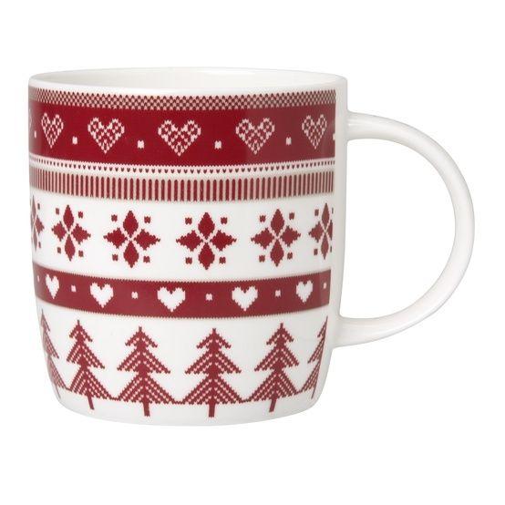 Laura Ashley Scandinavian christmas mug