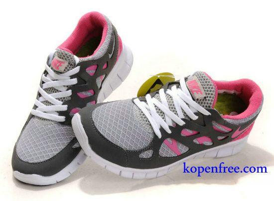 Kopen goedkoop Schoenen dames nike free run 2 (kleur:flirt-grijs,wit