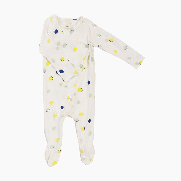 baby albert all-in-one (off-white, lemon and bluet)