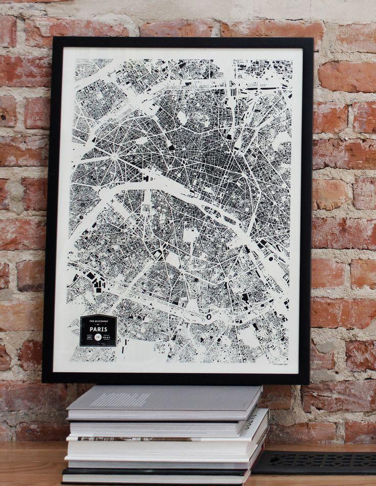 Paris City Print