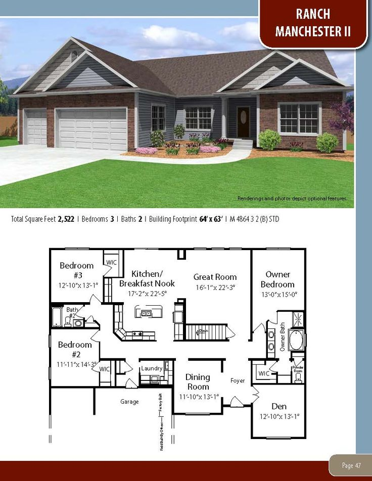 All american homes floor plans house design plans for American house plans