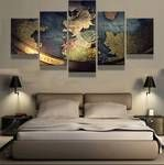 Map West Canvas Art, Map West Wall Art, Map West Large Canvas Print, Map West Wall Art, Map West Wall Decor, Map West Painting