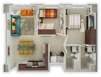 Departamentos nuevos en venta con crédito #Infonavit en #Azcapotzalco #DiseñodeInteriores