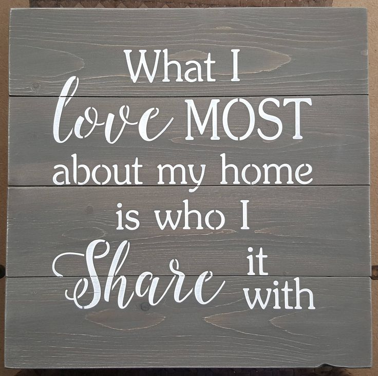 What I love about my home by akawoodsigns on Etsy