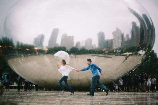 BRIDES Chicago: 10 Locations for Perfect Engagement Photos                                                                                                                                                                                 More