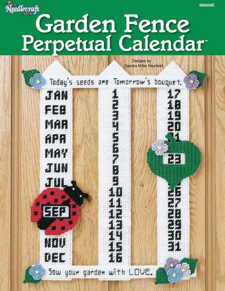 Garden Fence Perpetual Calendar Pg 1/4