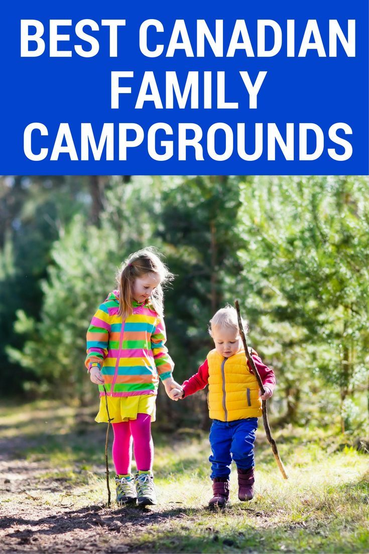 Whatever part of the country you want to explore this summer, we've rounded up the perfect family campgrounds across Canada.