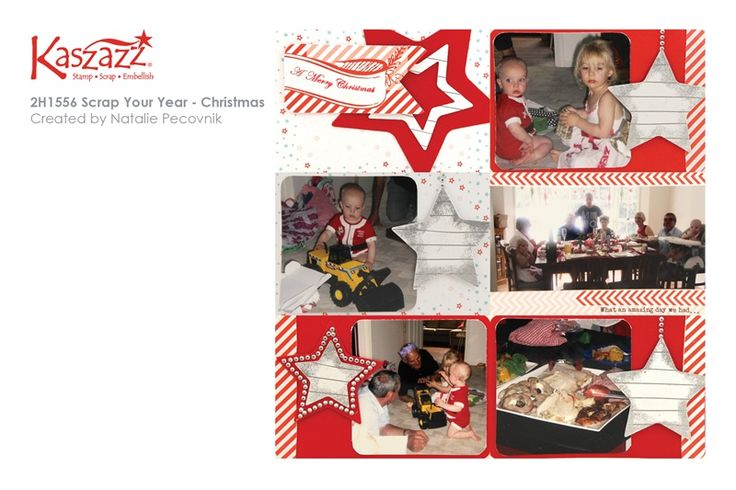 2H1556 Scrap Your Year - Christmas
