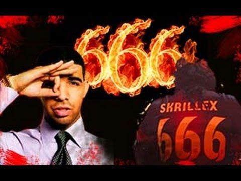666 HERE DRAKE SKRILLEX ILLUMINATI MARK OF THE BEAST PROGRAMING