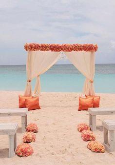 The 25+ best Beach wedding aisles ideas on Pinterest | Beach ...