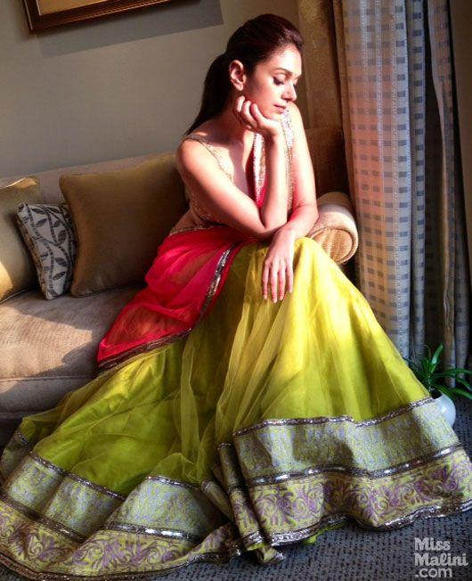 Aditi Rao Hydari gets the Rajasthani Princess look in Manish Malhotra https://www.facebook.com/manishmalhotrapage & Jewelry by PC Chandra http://www.pcchandraindia.com/