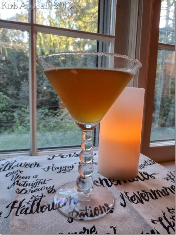 Autumn Cooler  -  recipe, includes Jack Daniels, Fireball Cinnamon Whiskey, apple cider, hard (alcoholic) cider, and sugar and cinnamon