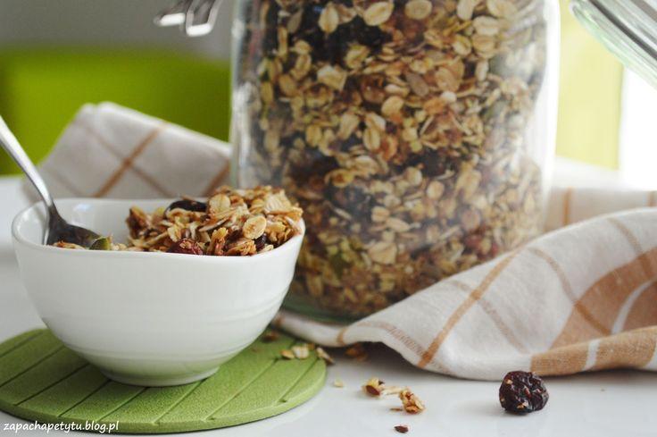 Homemade cranberry granola #zapachapetytu #homemade #granola