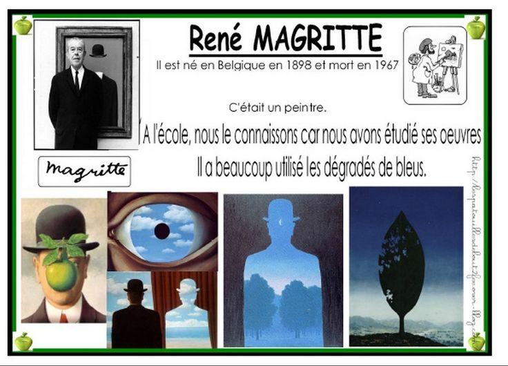 Le chemin du ciel de MAGRITTE