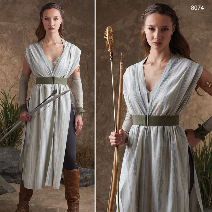 Dress up as your favorite female warrior with Simplicity 8074!