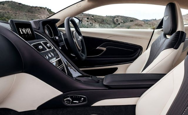 2017 Aston Martin DB11 Interior