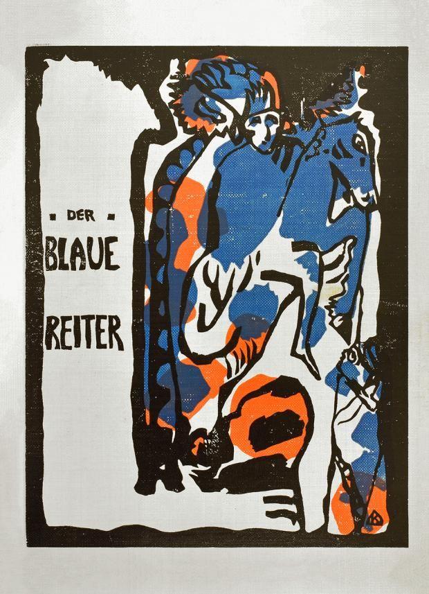 """Wassily Kandinsky und Franz Marc (Hrsg.), Almanach """"Der Blaue Reiter"""", München, 1914"""