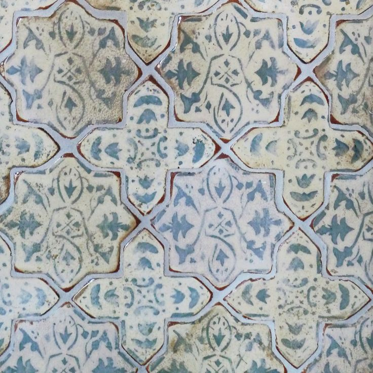 I'm in love with Tabarka Studio tile...Mediterranean 27 By Tabarka Studio