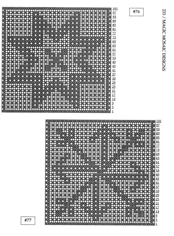 Mosaic Knitting Barbara G. Walker (Lenivii gakkard) Mosaic Knitting Barbara G. Walker (Lenivii gakkard) #238