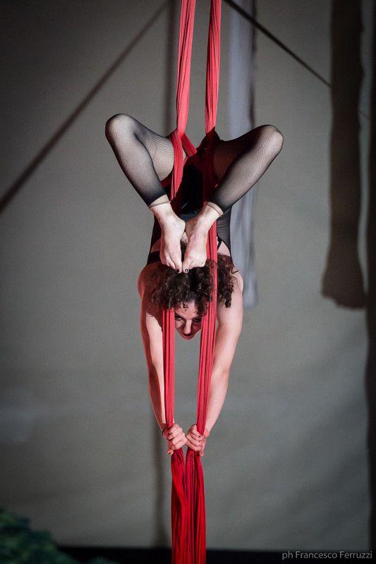 la #ginnastica aerea #saggio #circo