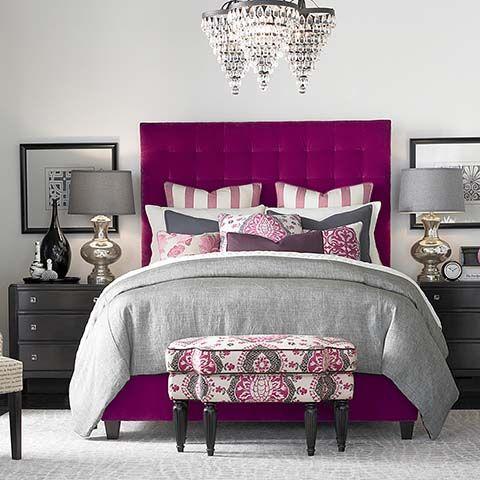 In By Bassett Furniture In Chesapeake, VA   Custom Uph Beds Duncan High  Queen Rectangular Bed