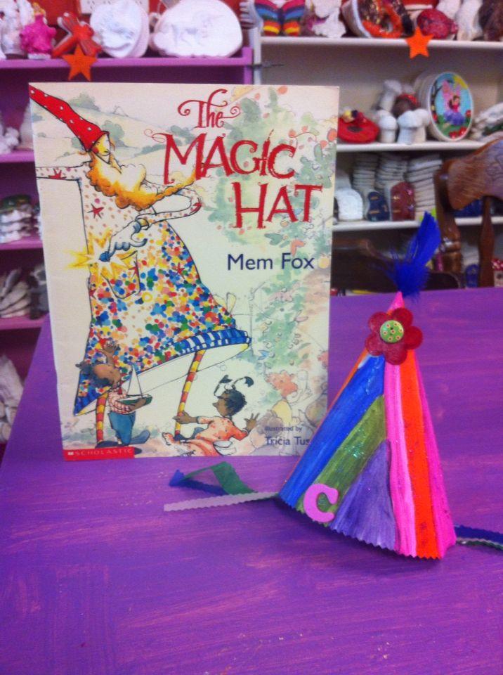 The Magic Hat by Mem Fox Storytime Craft