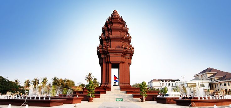 The Independence Monument Khmer Vimean