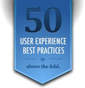 50 UX Best Practices by Above the Fold