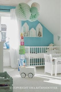 Farmhouseshop.se - Barnmöbler | Inredning till barnrummet | Personliga doppresenter: Barnrumsinspiration - Children´s Room Inspiration