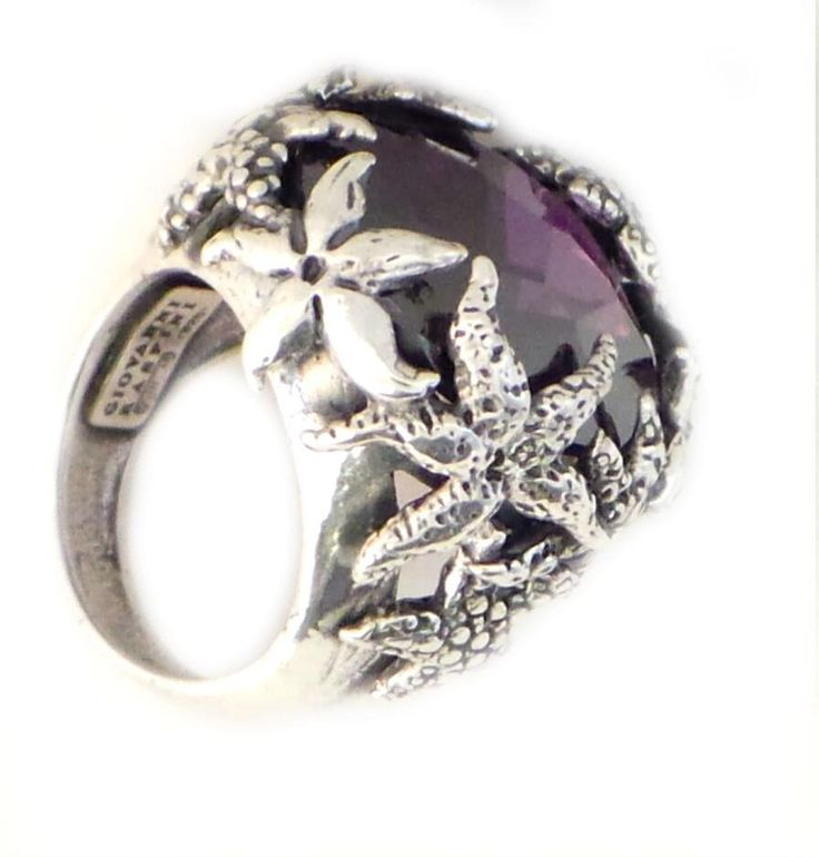 #ring #jewelry #anello #gioielli raspini - stelle marine color - 7565/14